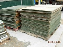 Used Plywood Sheeting